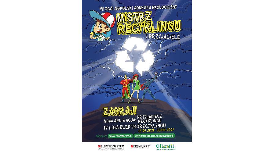 VII Mistrz Recyklingu - Ogólnopolski Konkurs Ekologiczny